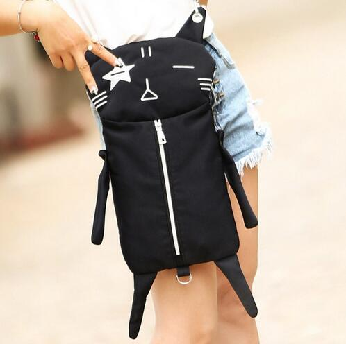 M269 Cute  Individual Character Funny  Black Cat  Soft  Shoulder Bag Small Size Girl Gift Wholesale<br><br>Aliexpress