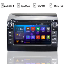 Auto Navigation Car Android 7.1 DVD GPS Player for FIAT Ducato 2011-2015 Radio RDS Bluetooth Mirror Link Map DAB+DVR OBD Wifi