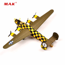 RV-MODEL 1:144 WW2 USA B24 Liberator Bomber Diecast Fighter Model Military Airplane Model Collection Kids Toys for children(China)