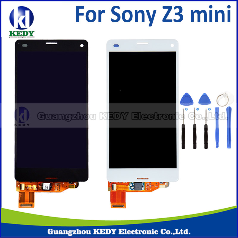 For Sony Xperia Z3 compact mini D5803 D5833 lcd display touch screen digitizer Assembly + tool<br><br>Aliexpress