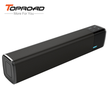 TOPROAD Portable Touch NFC Bluetooth Speaker Wireless Super Bass Loudspeaker Soundbar Support TF Card AUX Boombox for Phones(China)