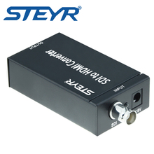 STEYR SDI to HDMI Converter Mini 3G SDI HDMI Adapter-Full HD 1080P BNC SDI to HDMI HDTV Video Audio Converter 720p/1080p