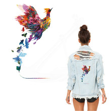 New multicolor phoenix Patches For Clothing 28*15.6cm DIY T-shirt  jacket Grade-A Thermal transfer stickers
