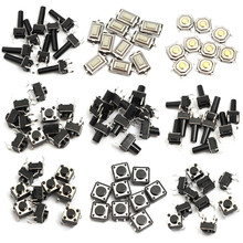 Details about 140pcs 14types Momentary Tact Tactile Push Button Switch SMD Assortment Kit Set Life 100000 times