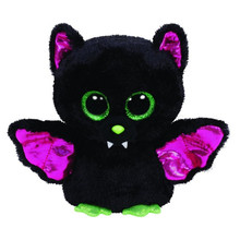Original Ty Beanie Boos Big Eyes Plush Toy Doll Colorful Rabbit Baby Kids Gift Bat Husky Dog 15 cm Christmas gift