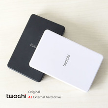 2016 New Style 2.5'' twochi A1 HDD Capacity Optional 60G/160G/320G/500G External hard drive Portable Storage Disk