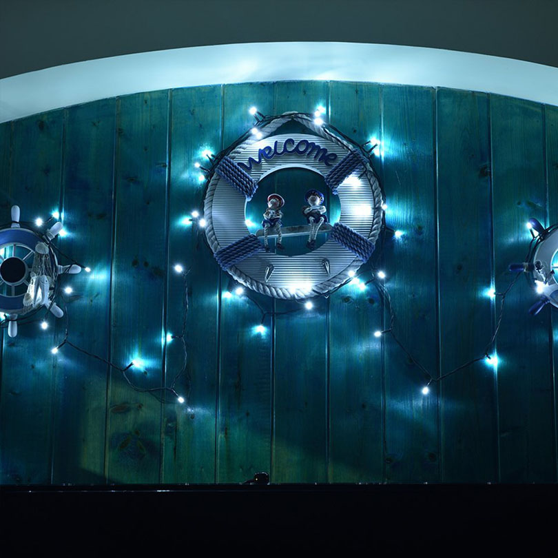 50 leds solar lights