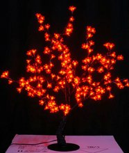 0.8M /2.6 ft height LED Cherry Blossom Tree Outdoor indoor Wedding Garden Holiday Light Decor 240 red LEDs