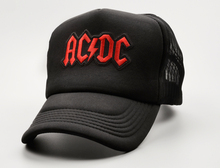 New Super-Stars AC/DC Band Trucker Cap Adult Unisex Baseball Cap Summer Adjustable Snapback Hat