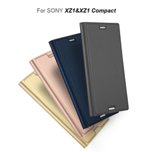 Vpower Vintage Wallet Case for Sony Xperia XZ1 Case For Sony Xperia XZ1 Compact PU Leather Flip Cover Magnetic Stand Cases(China)