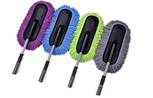 100X Multifunction Car Wash Microfiber Windshield Brush Cleaning Tool Car Glass Window Wiper Cleaner Towel