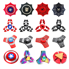 Buy Super Hero Metal Fidget Spinner Hand Finger Spinner Relieve Stress Tri-spinner EDC Adult Child Kid Funny Superman Toy Gyro for $1.71 in AliExpress store