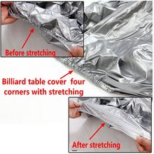 10FT Nylon Waterproof  pool table cover 9ft  /Outdoor billiards Table Free shipping
