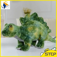 2016 New Arrival Giant 60cm New Jurassic World Dinosaur Plush Toy Stegosaurus Dinosaur Baby Toys Birthday Gifts for Kids(China)