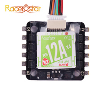 New Arrival 20x20mm Racerstar Mini RS12Ax4 12A Blheli_S BB2 2-4S 4 in 1 Brushless ESC D-Shot Ready For RC Model(China)