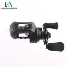 Maximumcatch Gear ratio 6.3:1 , 11+1BB Bait casting fishing reel Left/Right HAND Fishing Reel BAIT CASTING REEL