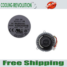 COOLING REVOLUTION laptop CPU cooling fan for asus eee pc 1015T 1015B 1015p 1015 1015pn notebook fan KSB0405HB (AMD CPU)
