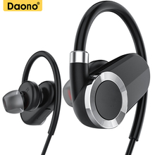 Buy DAONO IPX4-rated sweatproof headphones bluetooth 4.1 wireless sports earphones aptx stereo headset MIC iphone samsung for $15.46 in AliExpress store