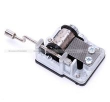 Mechanical Musical/Music Box Movement Craft DIY Accessories Hand Crank Many Tune SMB 71114335