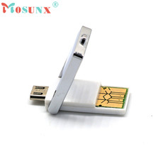 Mosunx Advanced 2017 U disk  Mini 2in1 Micro USB 2.0 OTG Adapter + Micro SD TF Card Reader For smart Phone PC 1PC