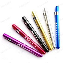 High quality Small flashlight medical pen light pen work light multi color led mini lamp for hunting daily carrying on foot