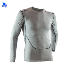 Running Shirt Men Rashgard Compression Football Jersey Tights Quick-Dry Fitness Tank Gym Training Wicking Long Sleeve T-Shirts