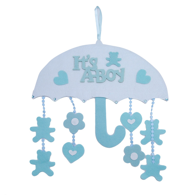 1Pc Baby Room Umbrella Ornaments Party Accessories For Boy Girl Baby Shower Christmas Home Decoration MA877389(China)