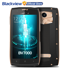 Blackview BV7000 4G Smartphone 5.0 inch FHD MTK6737T Quad Core Android 7.0 2GB RAM 16GB ROM 8MP NFC IP68 Waterproof Cellphone