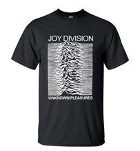Joy Division Men Unknown Pleasure Funny Graphics T-Shirt 2016 Summer Hot Streetwear Short Sleeve T Shirt Hip Hop O-Neck Tops Tee(China)