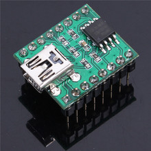 DC 3.3-5V MP3 Decoder MP3 Decoding Voice Module USB Download SPI FLASH Music IC Key Serial Control 20-250MA