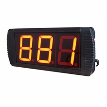 4'' Large LED Seconds Countdown Timer Countdown From 999 to 0 Seconds Red Color(China)