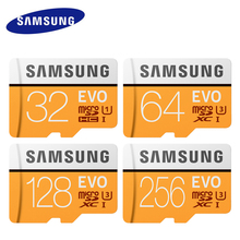 hot sale Samsung 32gb memory card high speed class10 64gb 128gb mini tf card EVO safe for phone tablets with free gift adapter(China)