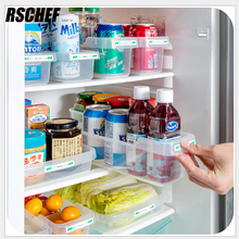 RSCHEF Japanese refrigerator storage case drawer type plastic storage box easy finishing(China)