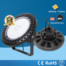 100W 150W 200W 240W UFO LED high bay light 2700k-6000K IP65 Retrofit highbay lamp Fixture High Bay Led Lights High quality  2PCS