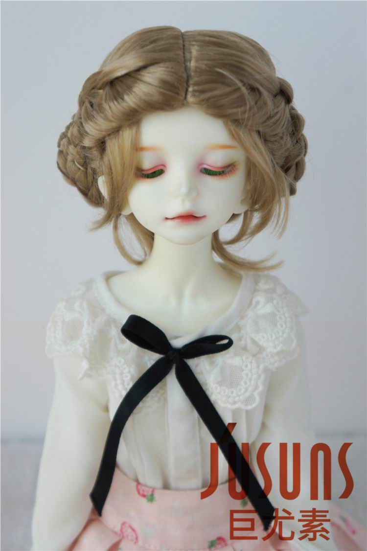 straight for all types of DOLLS TODDLER DOLL WIG Dark Brown size 9-10 NEW short