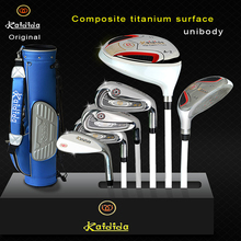 Original Men's Golf Club Half Set Golf Clubs With Standing Gun Bag Golf Sets For Golf Beginners(China)