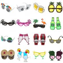 Funny Party Round Glasses Fancy Happy Birthday Party Novelty Beach Sunglasses Holiday Supply Party Favors Supplies Accessories