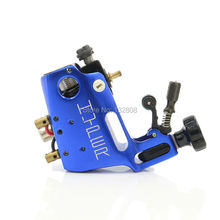 High Quality Blue Stigma Hyper V3 Rotary Tattoo Machine 4 Color For Choose Tattoo Gun For Shader And Liner Free Shipping TM-570C(China)