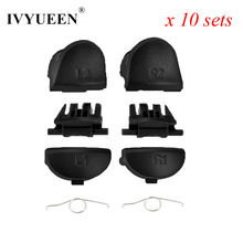Buy IVYUEEN 10 Sets L1 R1+ L2 R2 Trigger Button Sony PlayStation 4 PS4 Pro Slim Controller Replacement Parts Dualshock 4 for $6.95 in AliExpress store