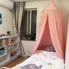 Buy Dome Mosquito Net Baby Cot Cotton Children Room Decoration Infant Mosquito Net Crib Netting Tent Photography Props Bedding for $55.40 in AliExpress store