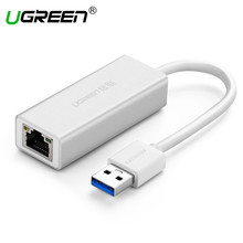 Ugreen USB Ethernet Apapter USB 3.0 to RJ45 Gigabit Lan Network Card Ethernet Adapter for Computer Macbook Laptop Usb Ethernet(China)