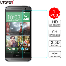 9H 2.5D For HTC One M8 Premium Tempered Glass Screen Protector Film for HTC ONE M8 Explosion Proof Front Screen Protective Guard(China)