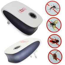 US/EU Plug Enhanced Version Electronic Ultrasonic Mosquito Repeller Mouse Repellent Cockroach Pests Reject E2shopping