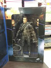 "NECA Terminator 2 Judgment Day T-800 Arnold Schwarzenegger PVC Action Figure Collectible Model Toy 7"" 18cm KT1818(China)"
