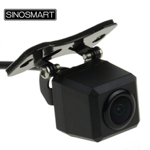 SINOSMART HD Universal Square Reversing Parking Camera for Car/SUV/Truck/Bus/Jeep Installation with Adjustable View Angle(China)