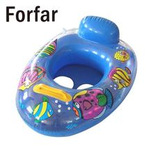 Forfar Inflatable Float Swimming Seat Ring Kids Baby Safety Floating Swim Pool Boat Toy(China)