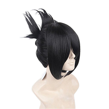 ccutoo ONE Punch-man Sonic Black Short Synthetic Hair Cosplay Costume Wig Heat Resistance Fiber(China)