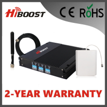 Hiboost  2G 3G 4G EGSM900 GSM DCS LTE1800 WCDMA UMTS 2100 Signal Extender Telecom Repeater Use for Office Home Building F13-EDW