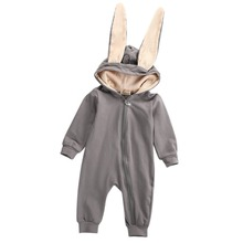 Buy New Winter Baby Rompers Toddler Infant Baby Girl Boy 3D Ear Romper Jumpsuit Playsuit Costume Outfits Clothes for $8.02 in AliExpress store