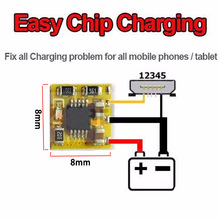 5pcs/lot Alborado EASY CHIP CHARGE ECC fix all charge problem for all mobile phones and tablet ( IC , PCB problems ) free ship